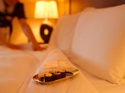 Chocolates on Bed 3 - Jan