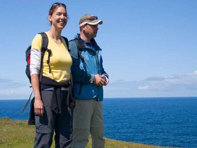 Walkig In The Burren 3