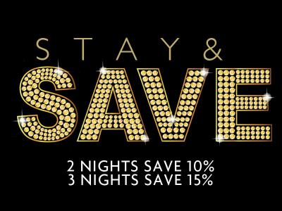 Stay & Save Sept 15