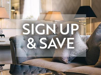 Sign up and Save
