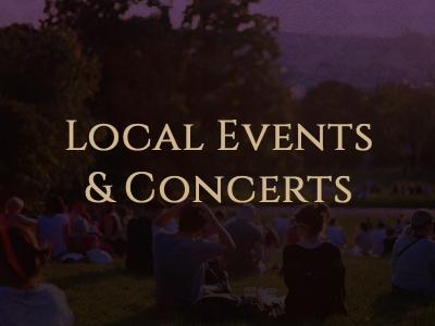 Local Events & Concerts