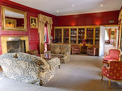 The Library  - Hintlesham Hall Hotel