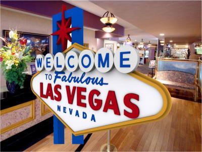 Vegas sign - Lobby