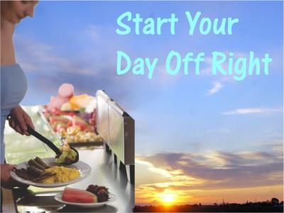 Breakfast Buffet w Sunrise