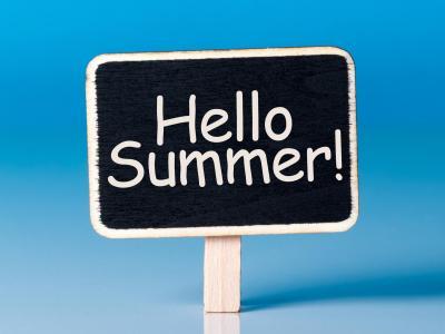 Hello Summer Sign
