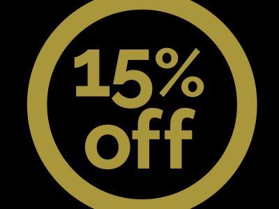 15% off at Midlands Park Hotel