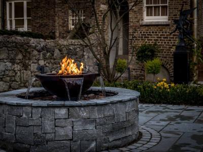 Fire fountain (2)