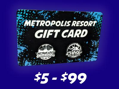 Gift Card 5 -100