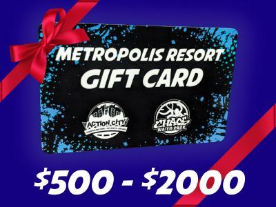 Gift Card 500 - 2000