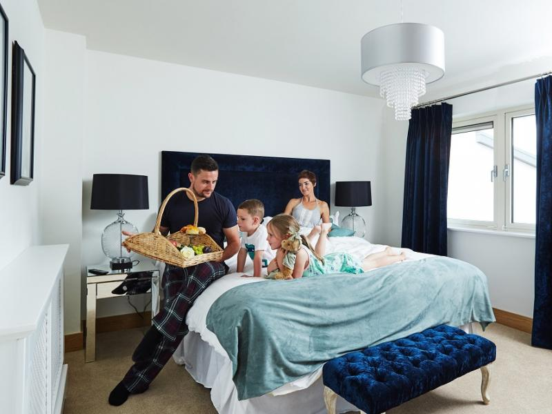 Fuchsia Lodges Bedroom