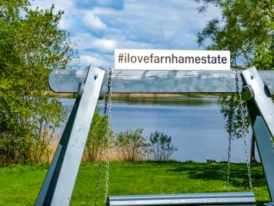 Lake Image #I love Farnham Estate